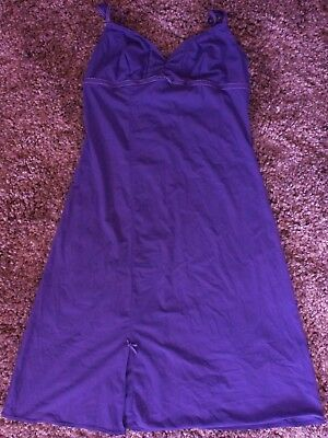 INTIMO slip / nightwear..purple...size 14