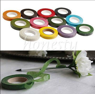 2 Rolls FLorist Stem Tape - Wire Floral Work - Buttonholes Craft Floristry