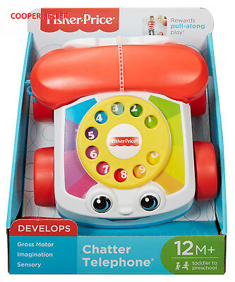 Fisher-Price Chatter Telephone learning Baby Toddler fun Phone