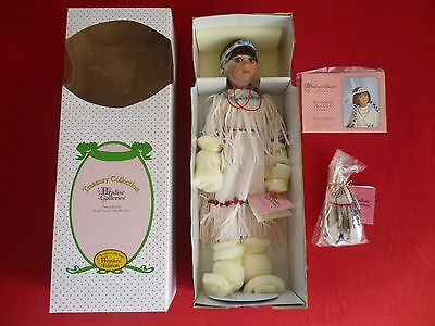 Paradise Galleries Pocahontas Porcelain Doll Premiere Edition New In Box Rare!