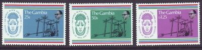 Gambia 1977 SC 348-350 MNH Set African Festival