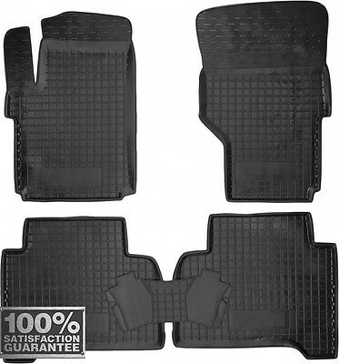 Rubber Carmats for VW Amarok 2010-2017 All Weather Fully Tailored Floor Mats