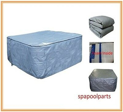 Customize spa Insulated UV cover bag and any size or shape, Round spa cover bag