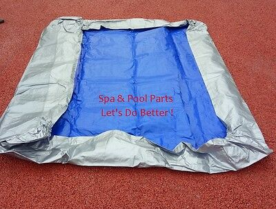 spa cover cap 69 inches by 85 inches by 12 inches (175 cm by 216 cm by 30cm)