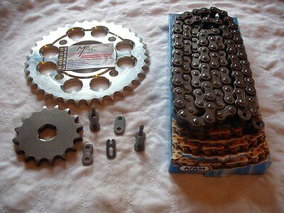yamaha 400 rd rd400 400rd rd400dx dx kit chaine afam neuf