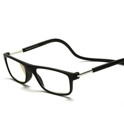 Neck Magnetic Glasses Reading Clic Readers Snap Closed Adjustable Hanging Around
