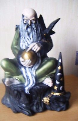 Vintage Gandalf Wizard Figurine / Hand Painted / Fantasy Mythical / Magic,