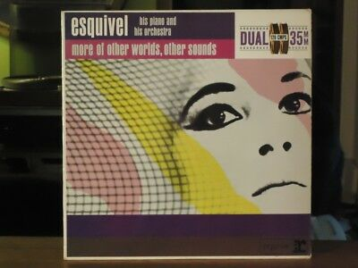 Esquivel 'More Of Other Worlds, Other Sounds' vinyl LP 1962 orig, Lounge Easy