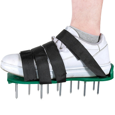 Rovtop Lawn Aerator Shoes with 4 Adjustable Fastening Tape
