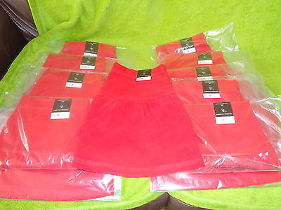 Bnwt Job Lot 10X Dorothy Perkins Skirts Rrp £20 Each Sizes 10 And 12 Red