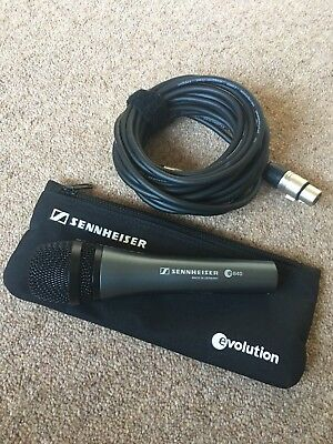 SENNHEISER Microphone e840 with Microphone Cable