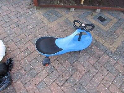 Swing Car Ride On Swivel Scooter Childrens Toy Kids Wiggle Gyro Twist