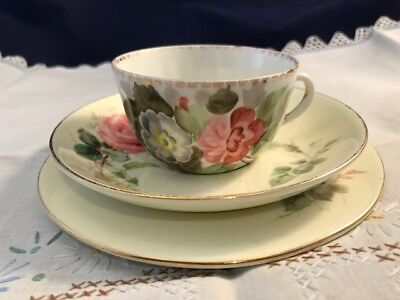 Vintage Mismatched Royal Doulton Trio - Unmarked Cup