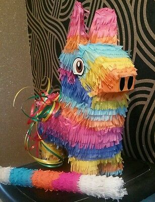Burro Donkey Pinata filled with Sweets & stick Birthday Party