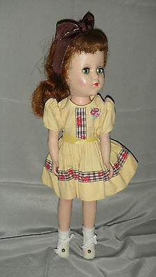 "LTD TOY STAMP Arranbee 15"" Nanette Doll 1940's"
