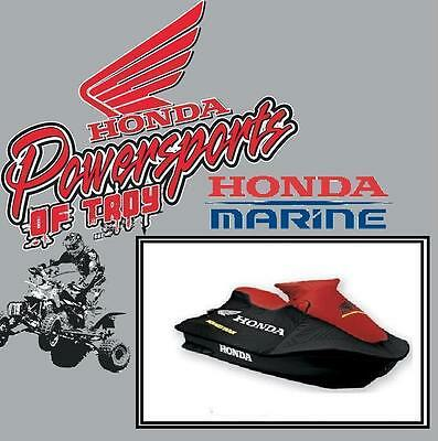 NEW GENUINE HONDA WATERCRAFT COVER RED/ BLACK R12X / R12 ( two seater )