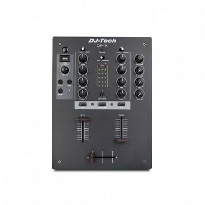 Mixer Dj-Tech Dif-X Con Usb Rec-Play E Bluetooth