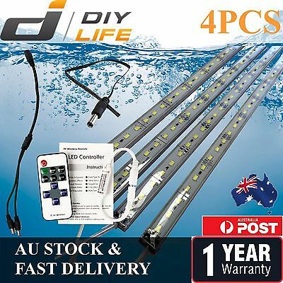 4X12V Waterproof Cool White 5630 Camping Light Led Strip Lights Bars Boat Car