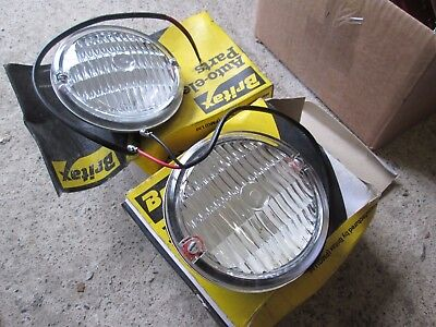 Aec/leyland/atkinson/bus And Coach/britax Pmg Step Lamp Or Sidelamp Nos Pair