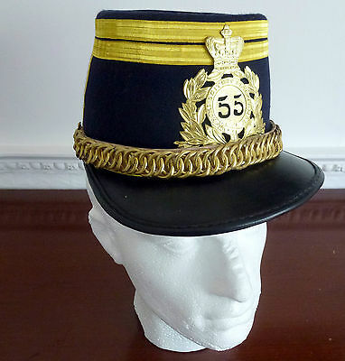 QUILTED SHAKO 55th FOOT 1869 (Repro)
