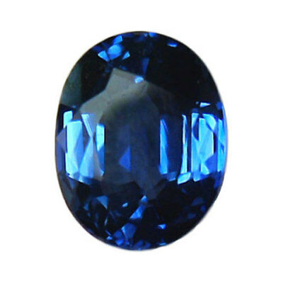Saphir certifié AIGS - 1,12 Carat - Oval - Heated only - Natural Sapphire Ceylon
