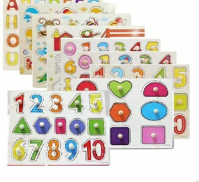 Montessori materials educational Toys Children Preschool Teaching Counting Stack