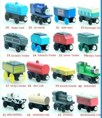 Thomas & His Friends-New Wooden Trains Anime Model Manetic Train Toys for Childr