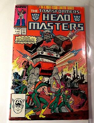 Transformers head Master #1 of 4 Marvel Copper Age  CB2246