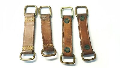 Four (4) WWI Canadian Oliver Pattern belt loops