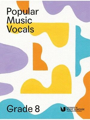 London College Of Music Popular Vocals Learn to Sing AUDITION VOICE BOOK Grade 8