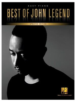 BEST OF JOHN Legend 2017 Learn to Play Songs POP Easy Beginner PIANO MUSIC  BOOK