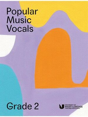London College Of Music Popular Vocals Learn to Sing AUDITION VOICE BOOK Grade 2