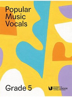 London College Of Music Popular Vocals Learn to Sing AUDITION VOICE BOOK Grade 5