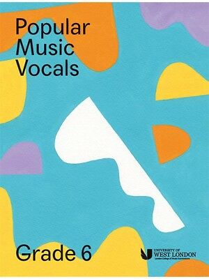 London College Of Music Popular Vocals Learn to Sing AUDITION VOICE BOOK Grade 6