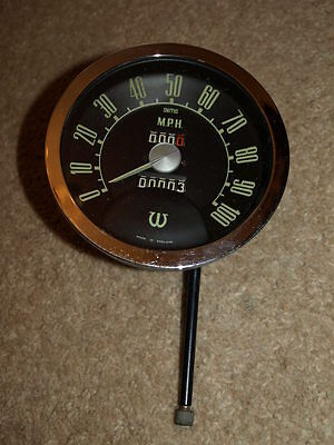 Wolseley 100 Mph Speedo. NOS.