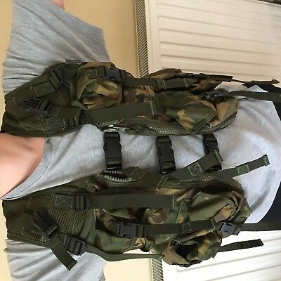 British Military Army DPM  Ops Vest Waistcoat (Type 8405-99-527-1800)
