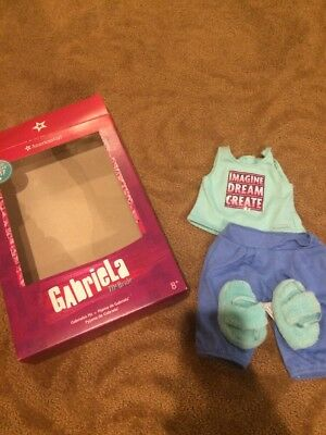 American Girl Gabriella's Pajamas NEW With One Small Imperfection