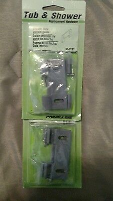 Prime-Line Products M 6191 Shower Door Bottom Hook Guide,(Pack of 4)