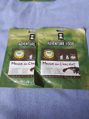 adventure food expedition quality chocolate mousse dessert DofE scout camp