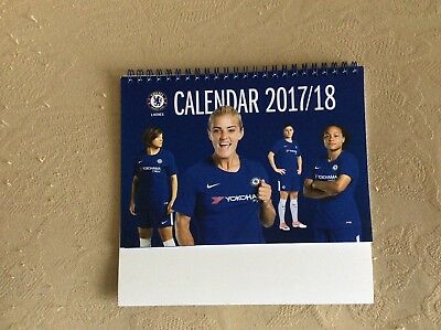 Chelsea Ladies 2017-2018 season CALENDAR