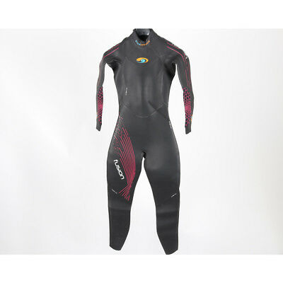 BlueSeventy Fusion Womens Wetsuit, Size Medium Small, Used repaired Black
