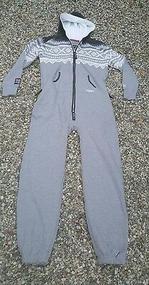 Marius Onepiece Gray/white Onsie Adult Size Large NWT