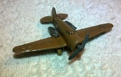 Vintage Barclay Bomber Toy Airplane ALL ORIGINAL