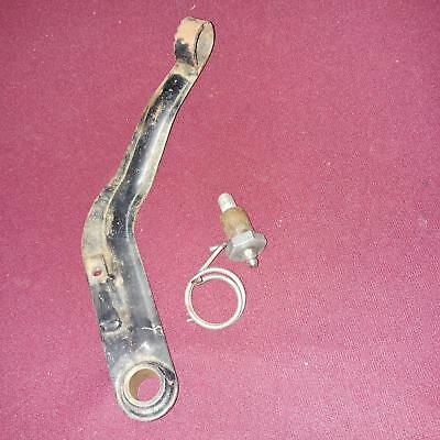 75 Can Am MX2 Bombardier MX-2 125 FRAME lower rear brake pedal lever