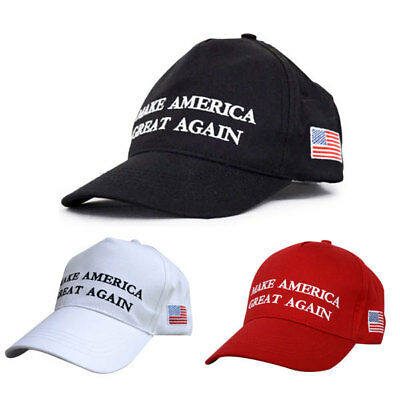 NEW Make America Great Again Hat Donald Trump 2016 Republican Adjustable Red Cap