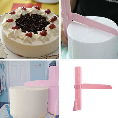 Adjustable Fondant Cake Scraper Piping Scraper Piping Edges Smoother Craft