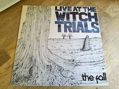 The Fall LP Live at the witch trials UK Step forward 1st press LOVELY VINYL OOOO