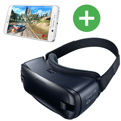 MEGA DEAL!!Samsung Gear 3D VR Virtual Reality Brille +Samsung S6 Smartphone 32GB