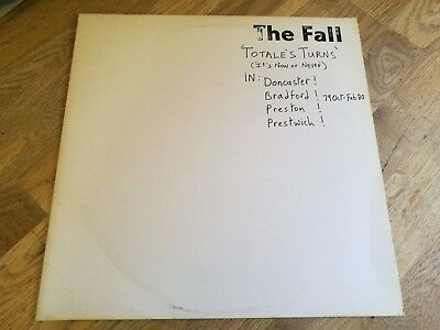 The Fall LP Live Totales turns 1980 UK Rough Trade 1st press LOVELY VINYL OOOOO