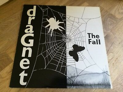 The Fall LP Dragnet UK Step forward 1st press & Insert NICE VINYL OOOO